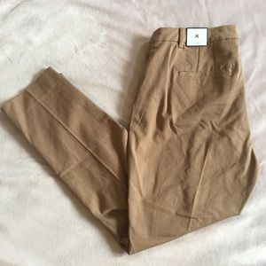 White House Black Market Pants - WHBM Tan Curvy Slim Dress Pants 8
